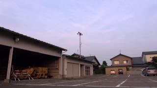 防災行政無線チャイム 新潟県新潟市南区味方18時「夕焼け小焼け」
