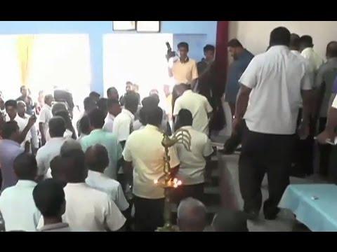 Minister Mahinda Amaraweera jeered at Baddegama event