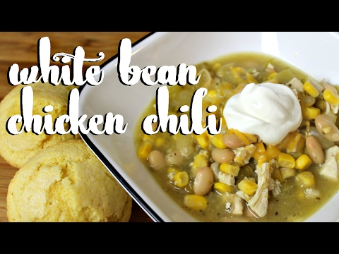 White Bean Chicken Chili (perfect For Game Day!)