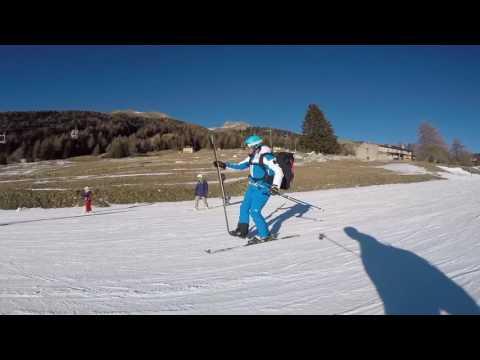 Giocando con gli sci
