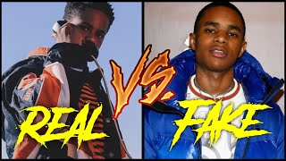 Real Rappers Vs Fake Rappers