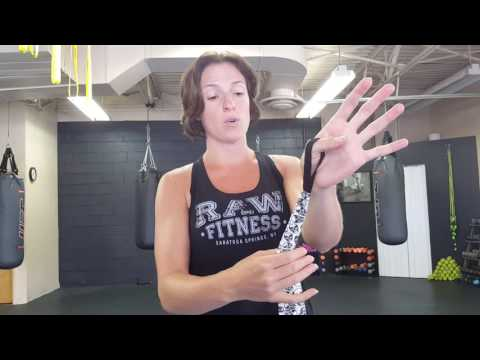 Boxing Hand Wrap Video for Boxilates® at RAW Fitness in Saratoga Springs, NY