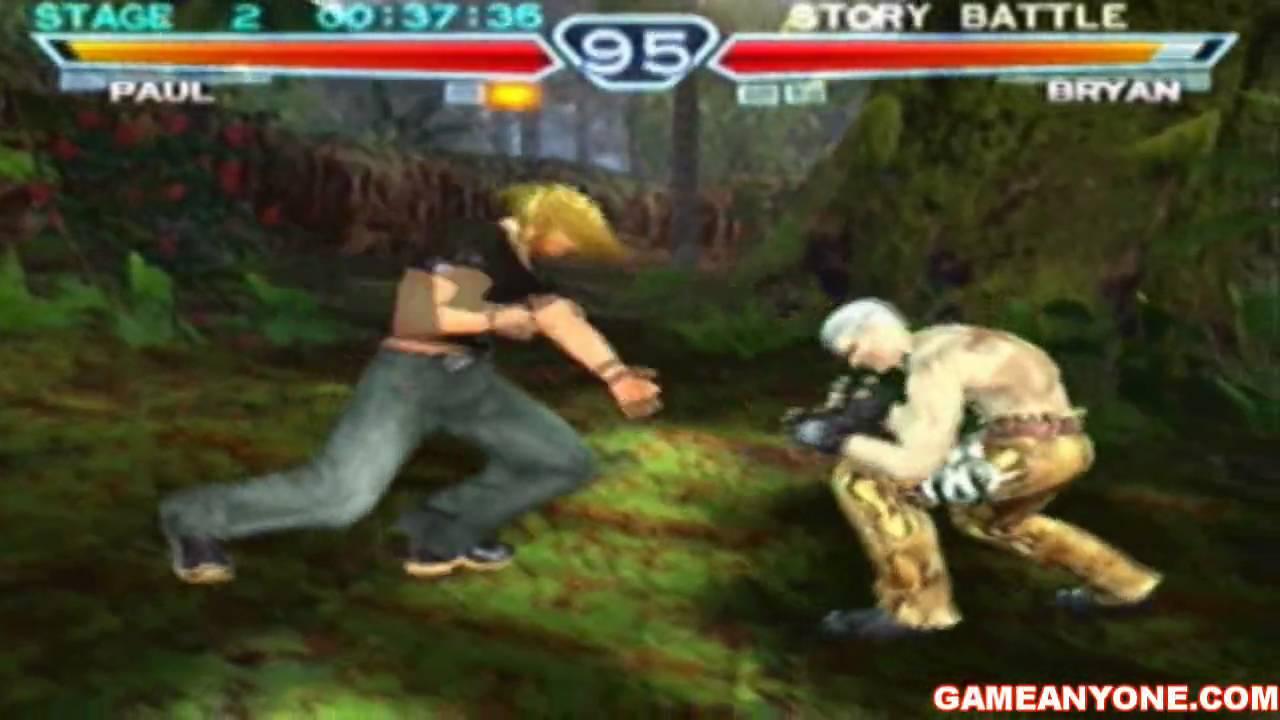 Tekken 4 Hd Paul Playthrough 1 2 Youtube