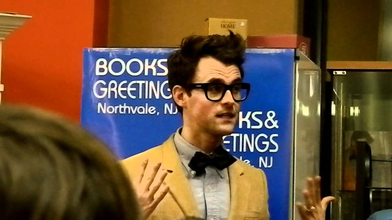 Brad At Books And Greetings Youtube