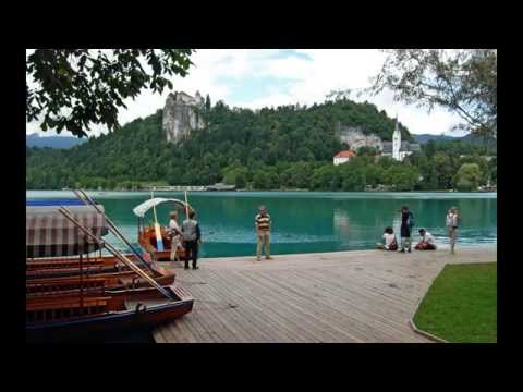 Slovenia: From the beautiful city and lake: Bled