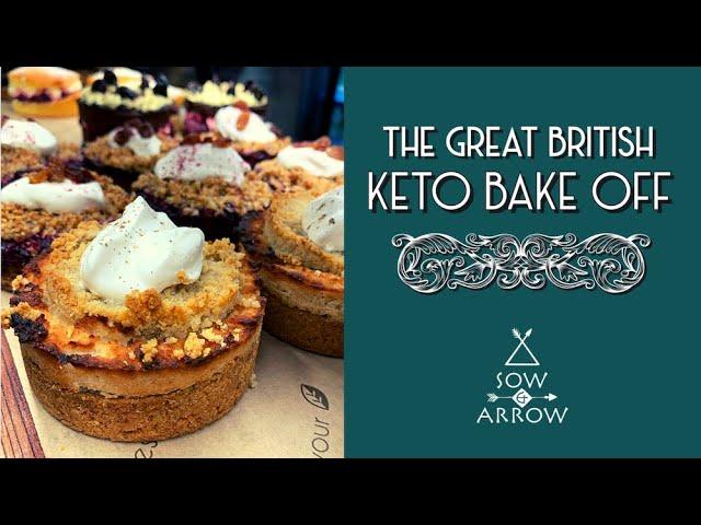 Great British Keto Bake Off: Vegan Spiced Apple Crumble Dessert