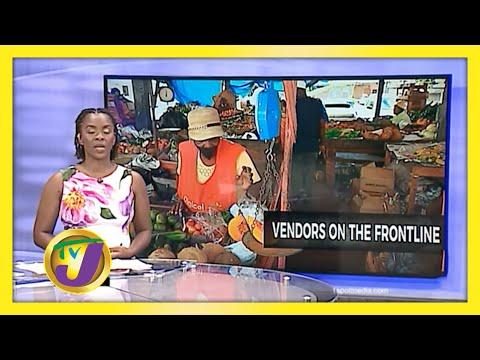 Vendors on the Frontline - Best & the Bravest | TVJ News