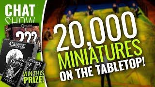 Weekender: 20,000 Miniatures On The Tabletop & WIN Escape The Dark Castle
