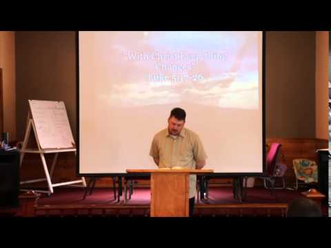 HCC Sermon_With Christ Everything Changes_05182014