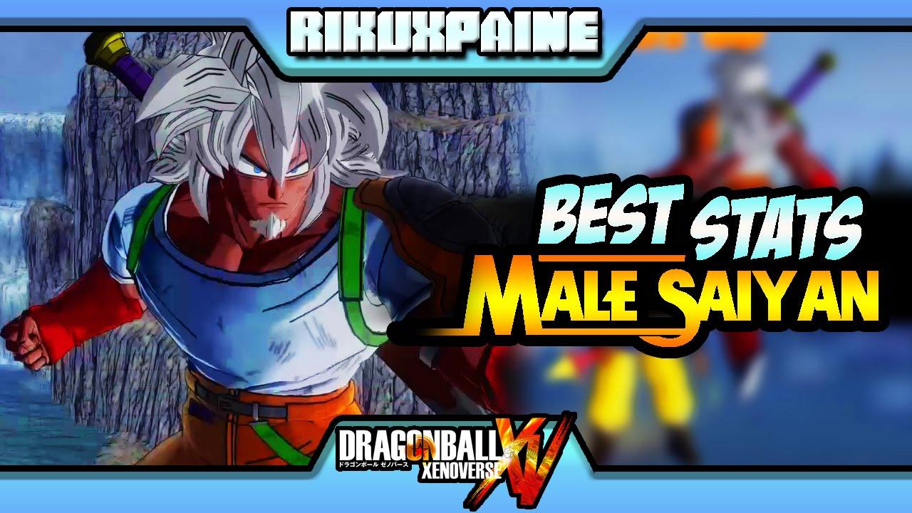 Dragon Ball Xenoverse: ▶Best Stats for Male Saiyan◀ | Offline & Online