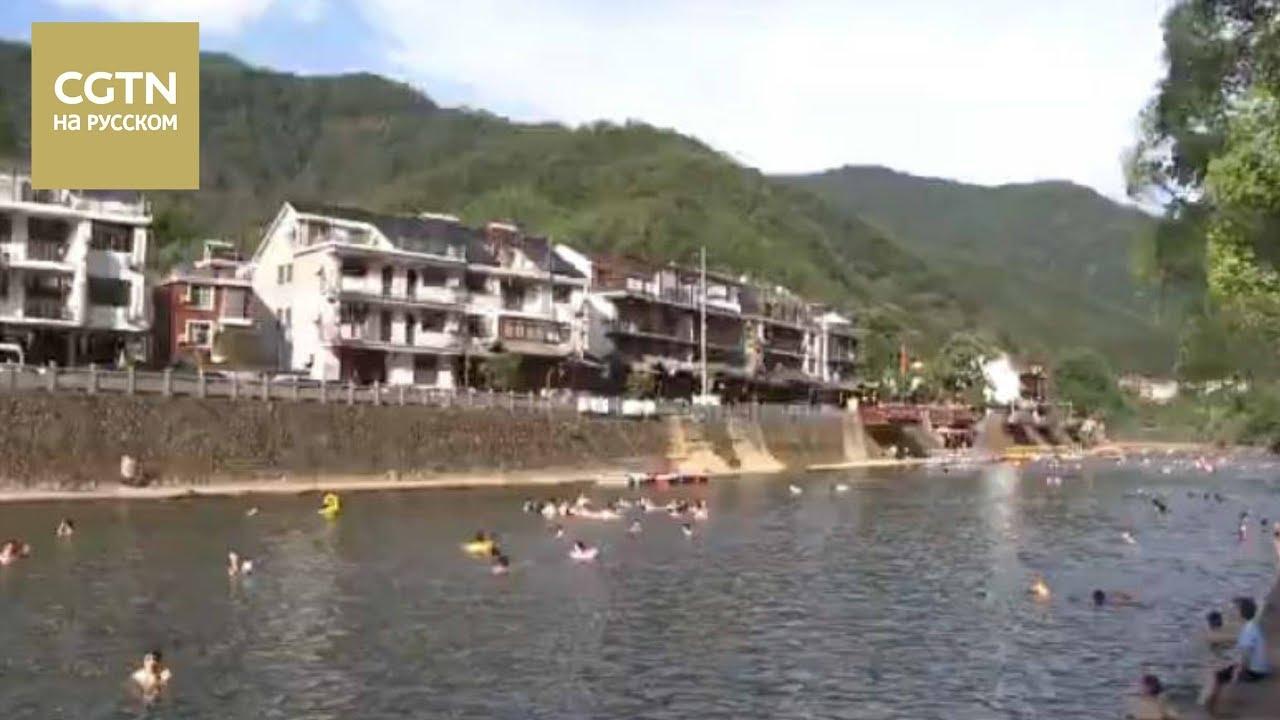 В уезде Тунлу провинции Чжэцзян внедряют проекты по очистке вод [Age0+]