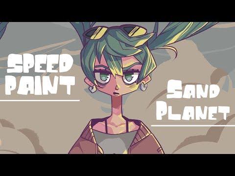 Speedpaint [Hatsune Miku -Sand Planet]