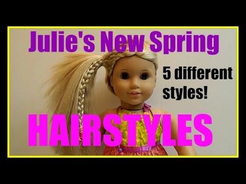 american girl doll julie's