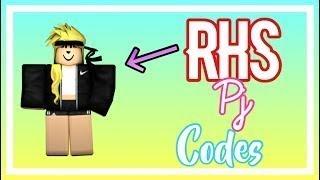 Girl Pajama Codes! | Roblox High School