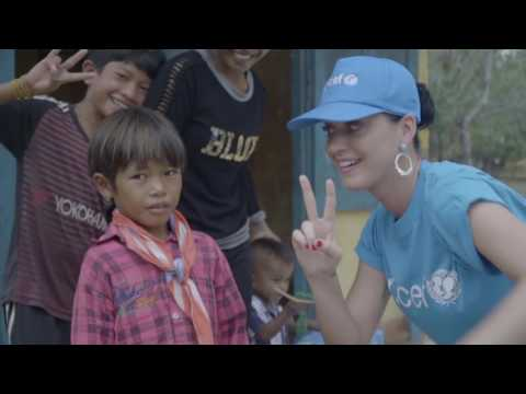 UNICEF Goodwill Ambassador Katy Perry in Vietnam (May 2016)