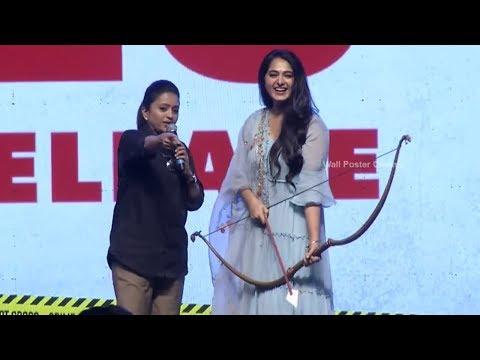 Anushka Shetty Speech @ HIT Movie Pre Release Event | Vishwak Sen | Ruhani Sharma | Nani