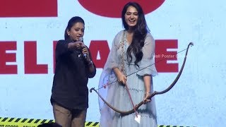Anushka Shetty Speech @ HIT Movie Pre Release Event | Vishwak Sen | Ruhani Sharma | Nani
