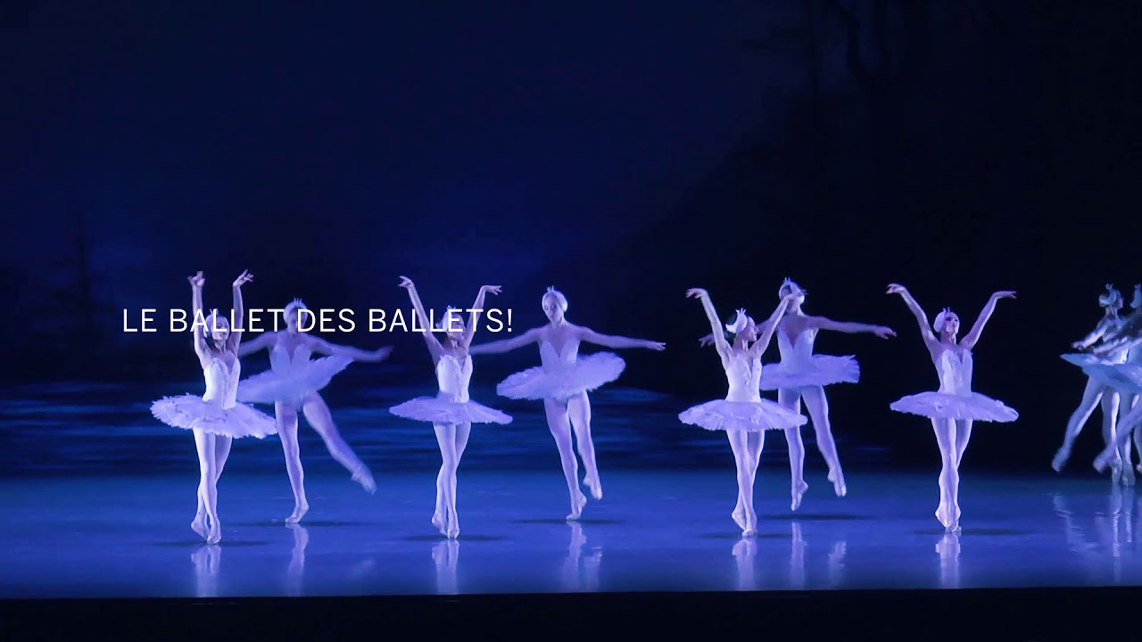 video: Semperoper Ballett Dresden - Le Lac des cygnes
