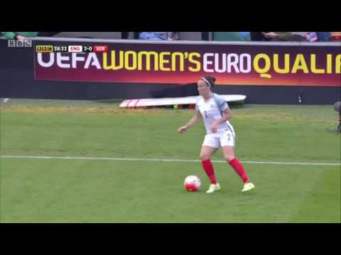 Lucy Bronze | England v Serbia (Euro 2017 Qualifying)