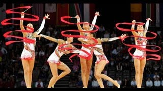 Rhythmic Worlds 2011 Montpellier - Groups All-Around Finals - We are Gymnastics!