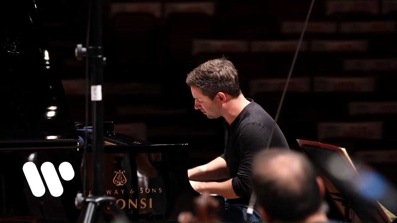 Bertrand Chamayou, Antonio Pappano & Santa Cecilia record R. Strauss: Burleske (excerpt)