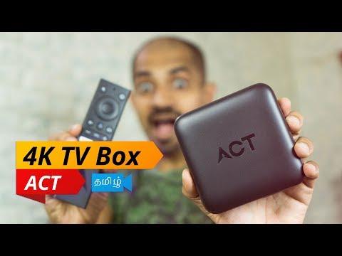 ACT Stream TV 4K - Google Certified 4K Android TV Box - பொட்டி திறப்பு மற்றும் விமர்சனம்