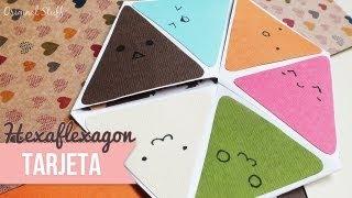 """Carta """"Hexaflexagon"""" [Scrapbook]"""