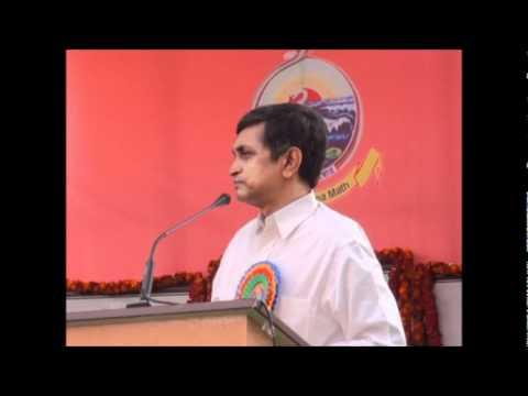 Dr Jayaprakash Narayan speaking on Swami Vivekananda and India - National Youth Day