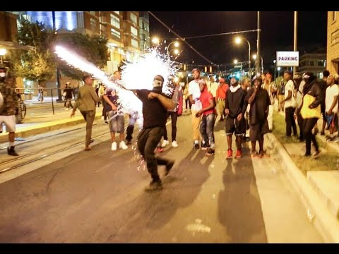 Riots and Looting in Charlotte NC - Keith Lamont Scott Protests Day 2