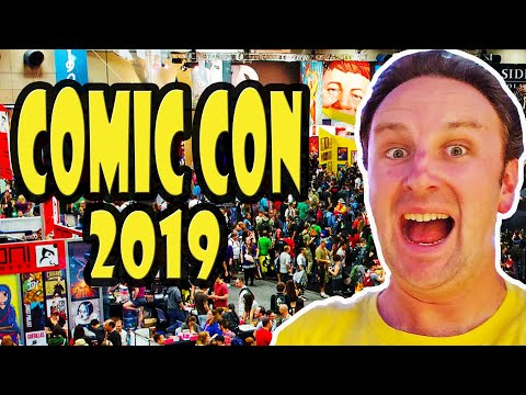 San Diego Comic Con Exhibit Hall Tour LIVE