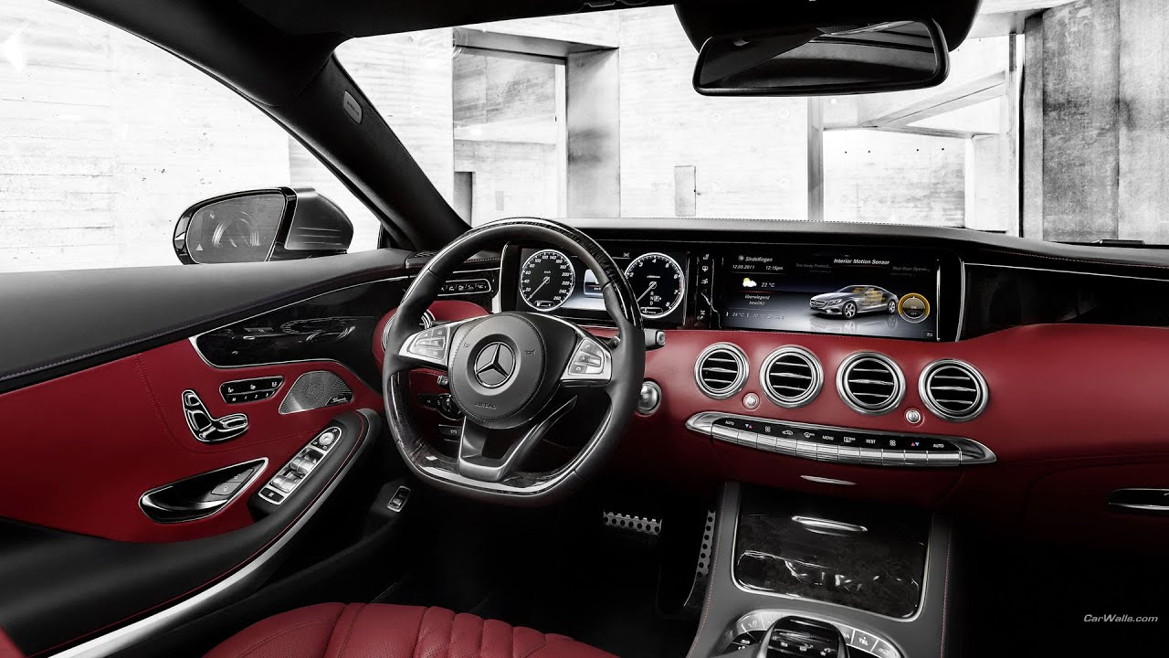 2015 Mercedes Benz S Class Coupe #1 Sports Car Interior Exterior Review    YouTube