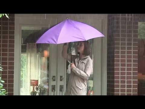Зонт обратного сложения UpBrella