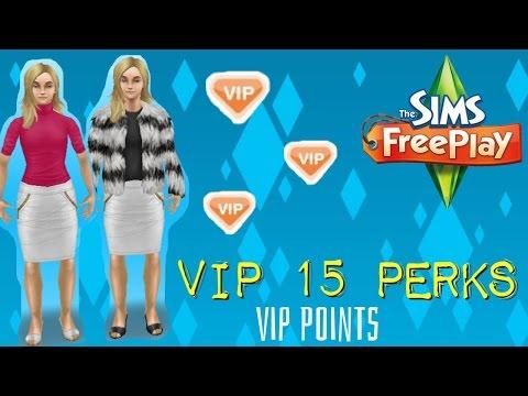 Sims Freeplay VIP Perks (VIP 15)