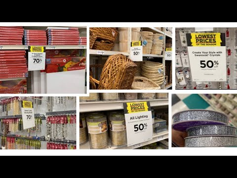 Michaels Craft Store || 💕Shop With Me + Haul || Huge 40-70% Off Sale💕