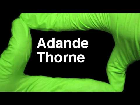 How to Pronounce Adande Thorne Swoozie YouTuber