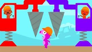 Sago Mini World  Trucks and Diggers - Sago Mini Fun Learning Game For Kids - Fun Pet Kids Game