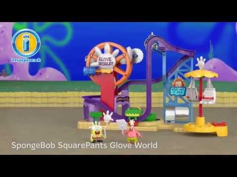 SpongeBob SquarePants Glove World | Imaginext | Fisher Price