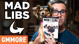 Dog Mad Libs