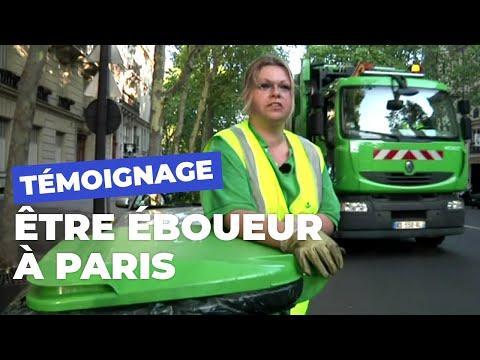 Paris vu par les éboueurs de la Ville de Paris