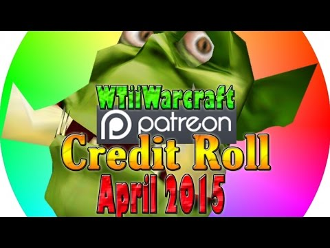 Patron Credit Roll (April 2015)