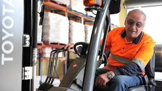 New Toyota Forklifts A 'Chip Off The Old Block' For Frozen Food Supplier