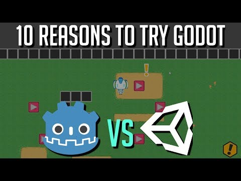 10 Reasons to Try Godot over Unity Game Engine