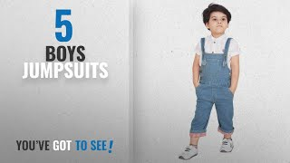 10 Best Boys Jumpsuits [2018 Best Sellers] Olele® Kids Denim Dungarees for Boys and Girls  Kids