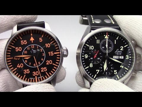 Five new Pilot Watches from Laco - Autos and Chronographs