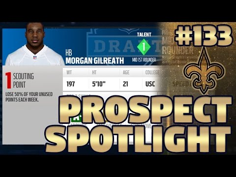 S3 Prospect Spotlight #2: Running Backs | Madden NFL 17 Saints Franchise Ep. 133