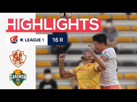 Gwangju FC Gangwon Goals And Highlights