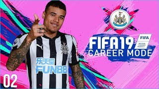 FIFA 19 Newcastle Career Mode Ep2 - TRANSFERS BEING MADE!!