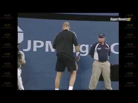 2001 US Open Sampras Vs. Agassi