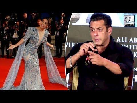 Salman Khan Reacts On Jitesh Pillai's Comment On Hina Khan's Cannes Debut | LehrenTV Mp3