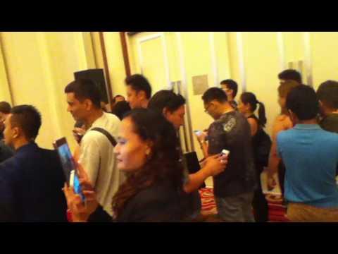UFC Manila 2015 media con